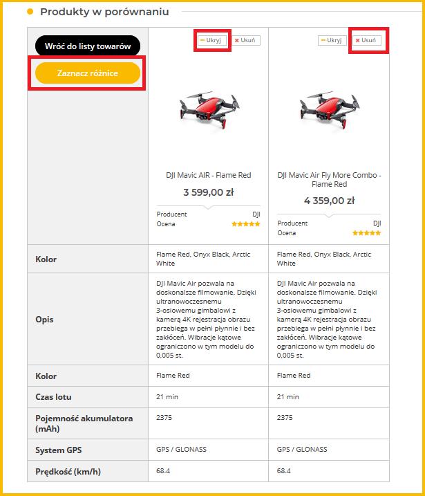 porównanie dronów megadron